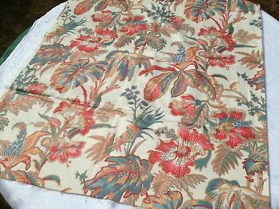 Stunning Piece of Vintage French Fabric Textile Crafts