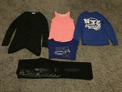 Girls bundle age 13 - 14 jumpers trousers tops jeggings