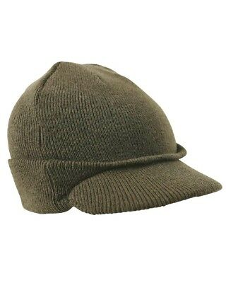 Kombat Peak Bob Hat Jeep Cap Olive Green Cold Weather Outdoors Tactical Army