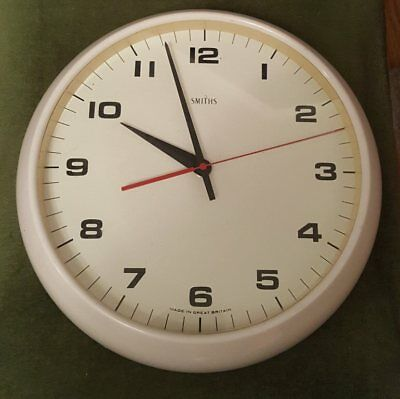 Smiths Vintage Tuning Fork Movement Electric Clock