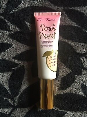 Too Faced - Peach Perfect Foundation - Natural Beige