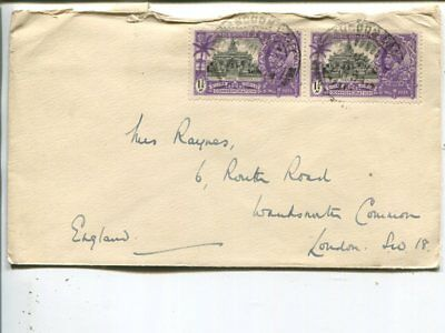 India cover to England 1935