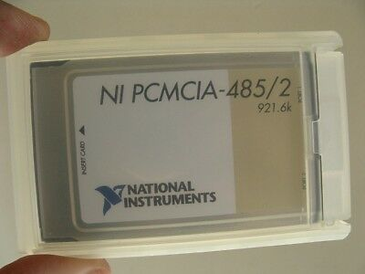National Instruments NI PCMCIA 485/2 921.6k Data Acquisition Card
