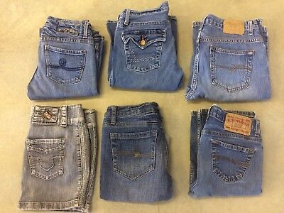 Jeans Lot Of 6 Pieces Size Small