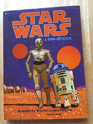 Vintage 1978 STAR WARS Pop-Up Book by Random House - Fun Star Wars Book!
