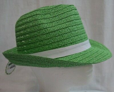 St. Patricks Day Green Fedora Party Hat