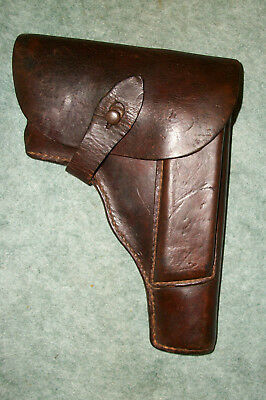 "WWII Polish RADOM German Contract holster Marked ""P35"" w/Post war 8 Rd max Clip"