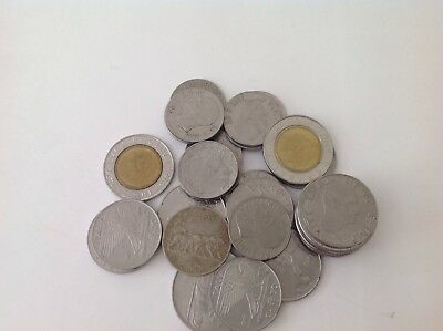 Italian Lot Of More Than 30 Coins From Italy