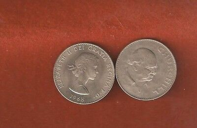 Great Britain 1965 Churchill Crown Uncirculated L548