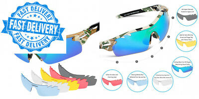 d34c035f59e TSAFRER POLARIZED SPORTS Sunglasses with Interchangeable Lenses New ...