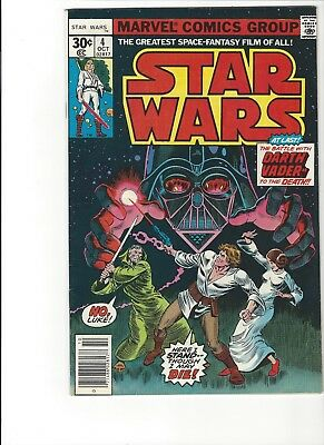 Star Wars #  4 -  Battle With Darth Vader ! *fn+ / Vf *   Combine Shipping