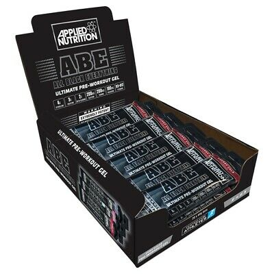 Applied Nutrition ABE Pre-Workout Gel (20x 60ml) All Black Everything Gels x 20