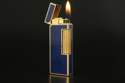 Dunhill Rollagas Lighter Refurbished NewOrings Working Over hauled Vintage #320