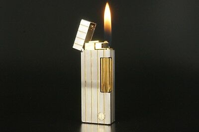 Dunhill Rollagas Lighter Refurbished NewOrings Working Over hauled Vintage #321