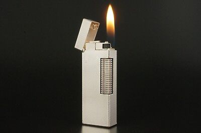 Dunhill Rollagas Lighter Refurbished NewOrings Working Over hauled Vintage #323