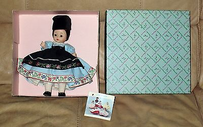 Madame Alexander doll 1968 to 1972 – new in box – Rumania; doll #786