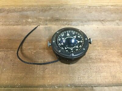 Vintage E.S. Ritchie Boat Compass / Bomber?