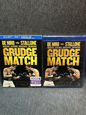 Grudge Match Blu-Ray + DVD + Digital HD UV (NEW) W/ Slip Cover Free Ship