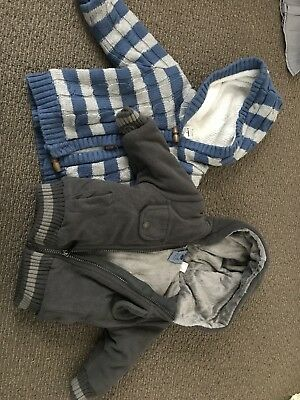 2 X Boys Jackets Size 0