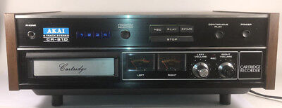 AKAI 8-TRACK STEREO CR-81D PLAYER / RECORDER - Superb Cosmetic Condition  $88.88