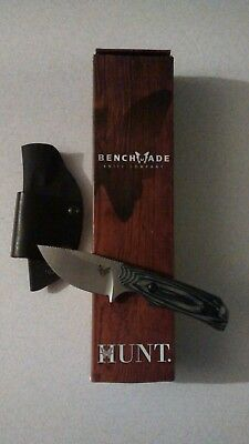 Benchmade Hunt Hidden Canyon Hunter Knife 15016-1 G-10 Handle Kydex Sheath S30V