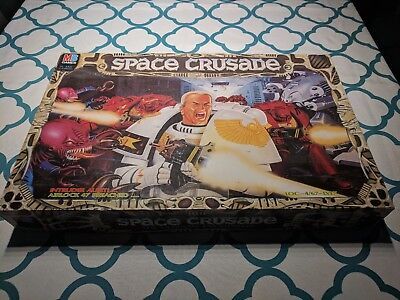 Space Crusade board game - used but 100% complete, in original box