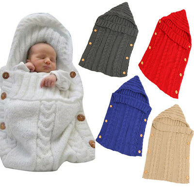 Newborn Baby Swaddle Autumn Winter Soft Wrap Swaddling Soft Sleeping Bag