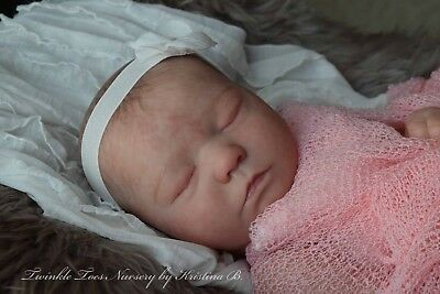 Realistic Reborn Baby Girl 'Realborn Zuri Asleep' by Bountiful Baby