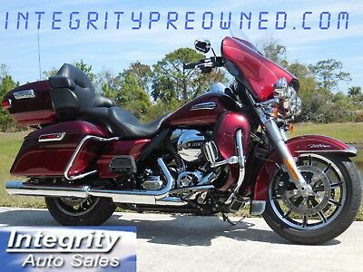 2016 Harley-Davidson Touring  2016 Harley Ultra Classic with Low Miles Navi ABS Security Flawless!!