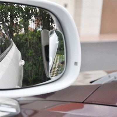 2x Large 360 Degree Wide View Rear Baby Child Car Seat Safety Spot Mirror