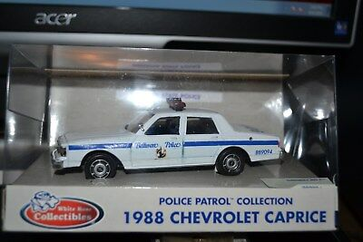 Baltimore City, MD POLICE  1988 Chevy Caprice  in 1/43rd scale