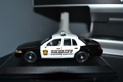 Calvert County, MD Police 2010 Ford Crown Vic PI 1/43rd scale