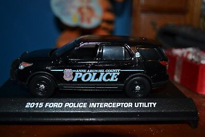 Anne Arundel County, MD Police 2015 Ford Utility 1/43rd scale