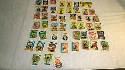 The Garbage Gang 1980s New Zealand Issue S1 - S4 - approx.51x Different Stickers