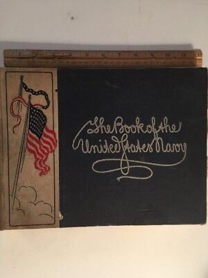 Book 1905 The Book Of The United States Navy 220 Pages/200 Photos Ships & Crew