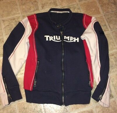 Rare Triumph Motorcycles Sweater Men's Size Large