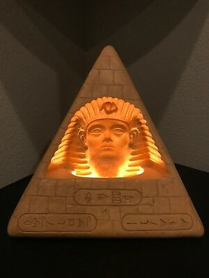 Egyptian Pharaoh Pyramid Optical Illusion Lamp