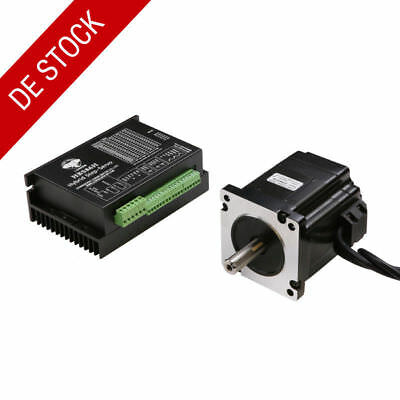 EU SHIP!1Axis Closed-Loop Stepper Motor NEMA34 9N.m 1278oz.in 142mm&Drive HBS86H