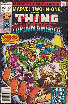 Marvel Two-In-One #42 (Aug 1978, Marvel) Avengers  Infinity War Cosmic Cube