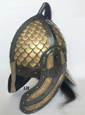 Medieval Ancient Spartan Ancient Vikikg Armour Helmet Replica Halloween Gift