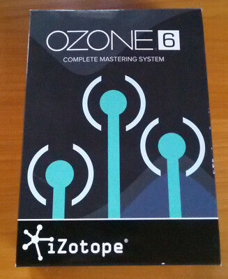 IZotope OZONE 6 Mastering Suite Software Standart Full Version Standalone