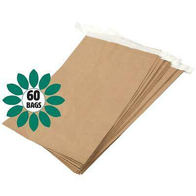 Eco Friendly Paper Mailing Manilla Brown Bag/Sack - 330 x 100 x 485mm - 60 bags