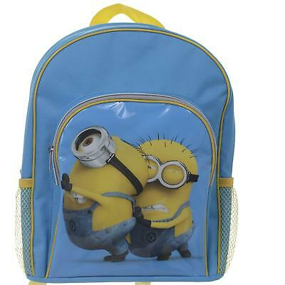 Despicable Me 2 Hugging Minion Backpack with Pockets School Bag 3+ 31048