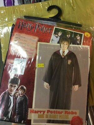 Official Adult License Harry Potter  Robe Cloak Cosplay Costume Fancy Dress Larp