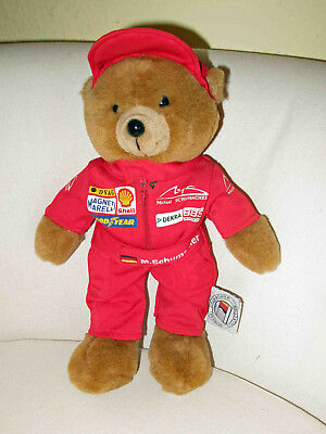 Michael Schumacher Collection - Teddy im Rennanzug - Puppe - Teddy - Bär