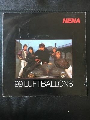 "Nena 99 Luftballons Original 7"" Vinyl Single"
