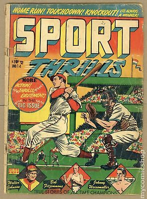 Sport Thrills (Star) #14 1951 FR/GD 1.5