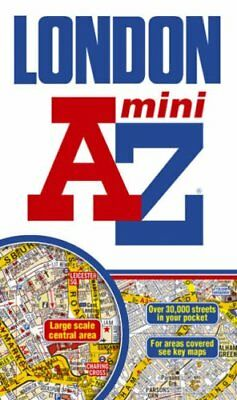 London Mini Street Atlas (paperback) (A-Z Street Atlas),Geographers A-Z Map Com