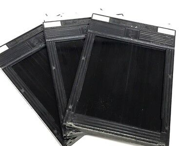 【Exc+++++】 4x5 Toyo Cut Film Holders 3 Piece From Japan 357