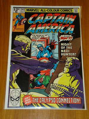 Captain America #245 Marvel Comic Near Mint Condition May 1980
